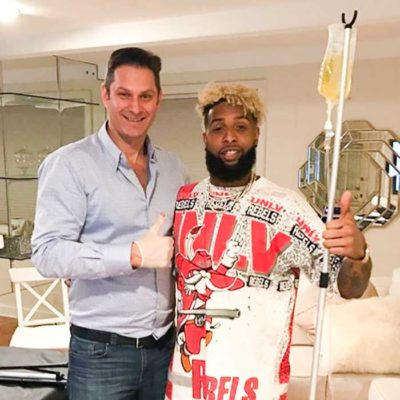 DripHydration Home IV Therapy with Odell Beckham-sq
